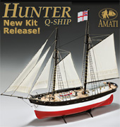 amati hunter basse q ship