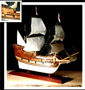 amati mayflower ship