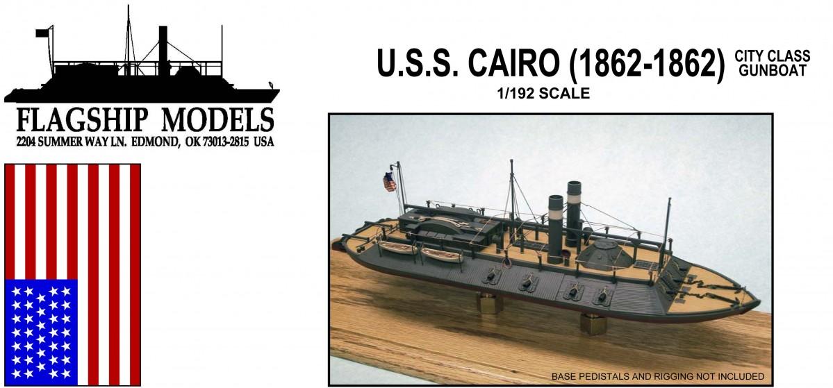 Uss cairo 1 192 flagship models for Cairo mobel