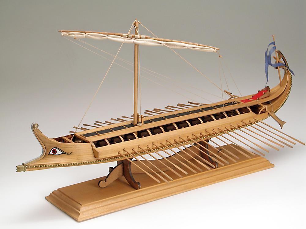 Amati Greek Bireme Wooden Model Kit AM1404