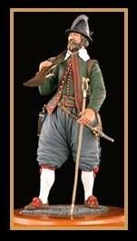 English Cavalryman Figure, 1588 (Amati)