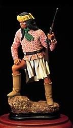 Apache Warrior Figure (Amati)