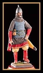 Russian Knight Figure, XIV Century (Amati)