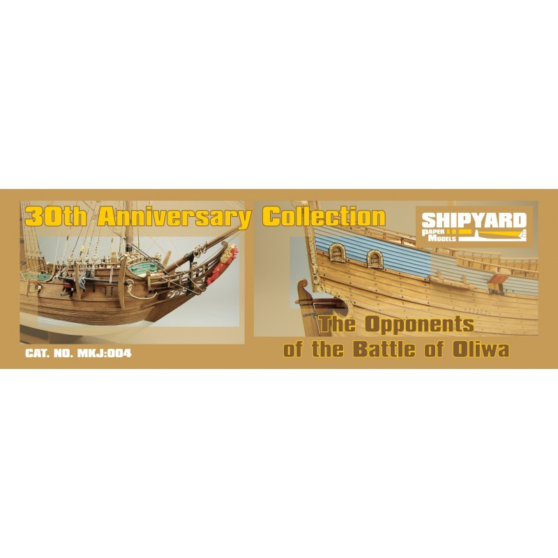 30th Anniversary Collection- The Opponents of Battle of Oliwa (Shipyard, 1:96)