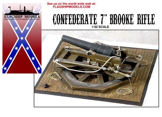 "Confederate 7"" Brooke Rifle (Flagship, 1:32)"