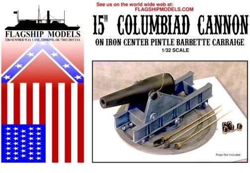 "15"" Columbiad Cannon (Flagship, 1:32)"