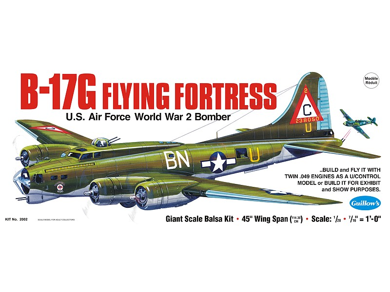B-17G Flying Fortress (Guillows 1:28)
