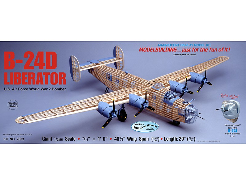 B-24D Liberator (Guillows 1:28)