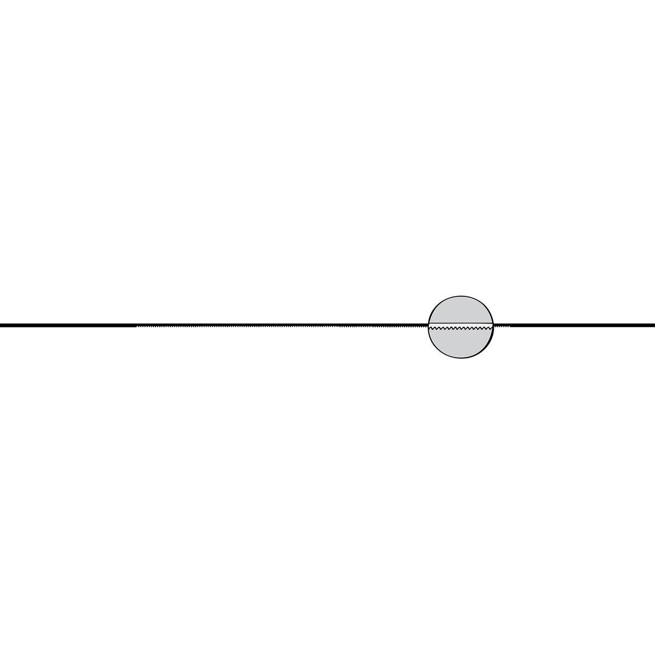 #2/0 Saw Blades  65 Teeth/Inch (Excel)