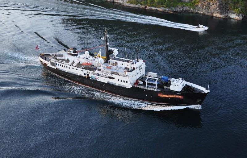 M/S Finnmarken Norwegian Passenger Ship (Turk, 1:60)