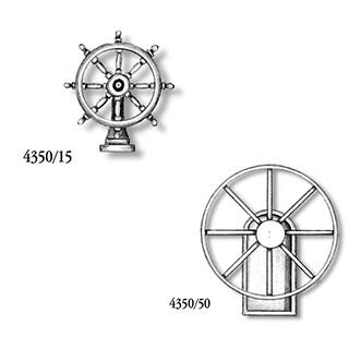 Metal Steering Wheel w/ Stand 50mm (AM4350/50)