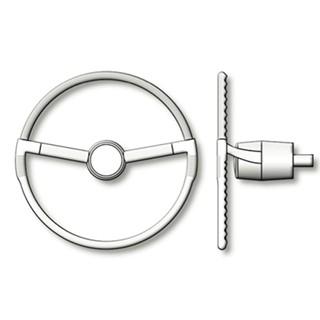 Runabout Steering Wheel 40mm (AM4806)