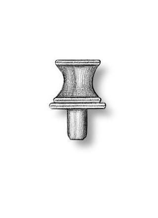 Brass Capstans 4.5mm (AM4866/01)