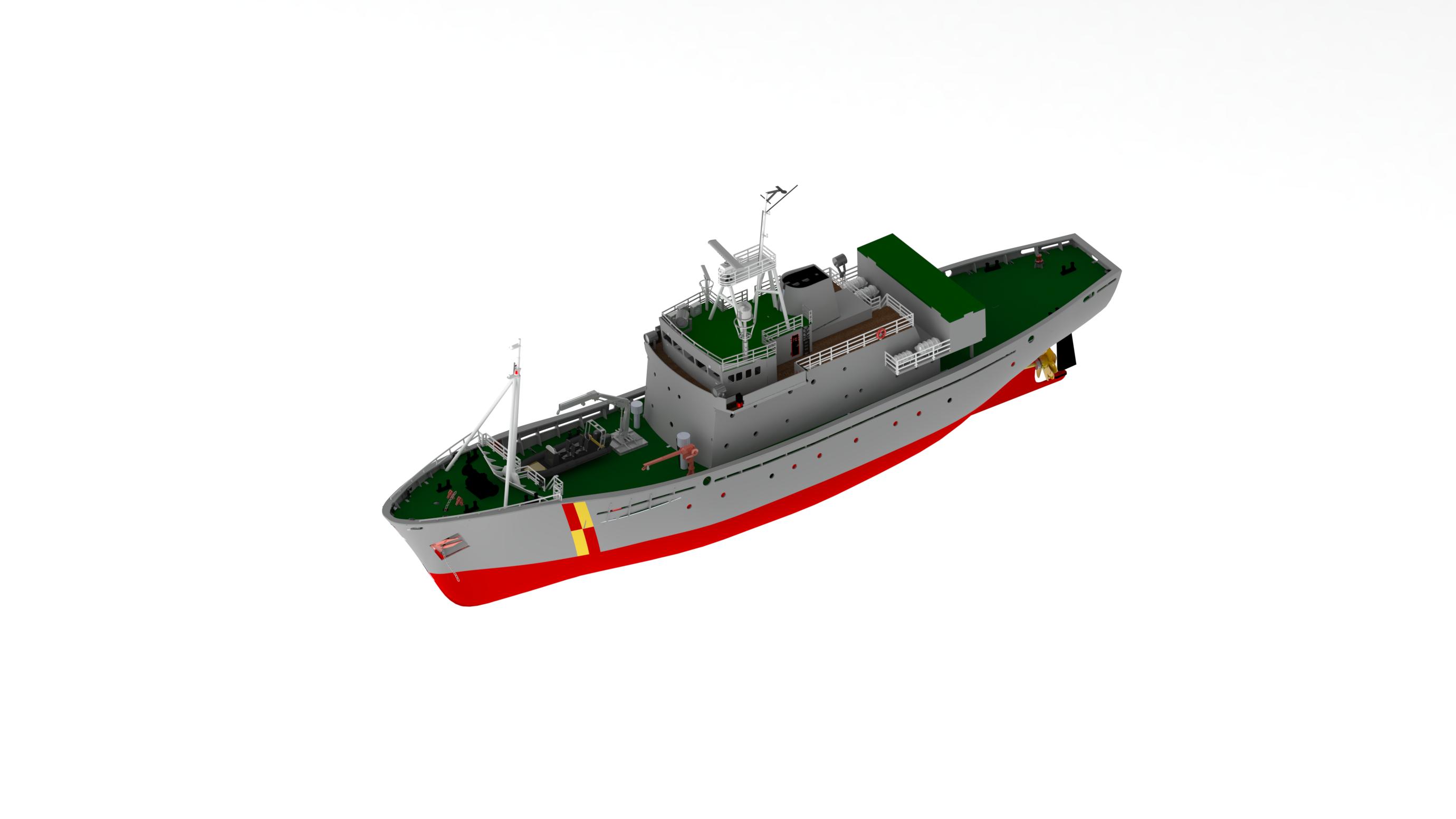 FPV Westra Scottish Fisher Protection Vessel (Turk, 1:50)