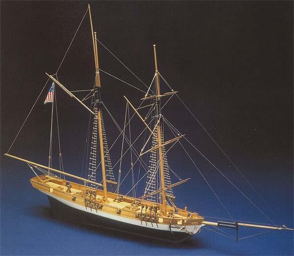Lynx, Baltimore Clipper Schooner (Mantua, 1:62)