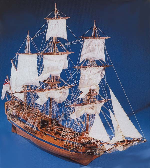 HMS Peregrine Galley (Mantua, 1:60)