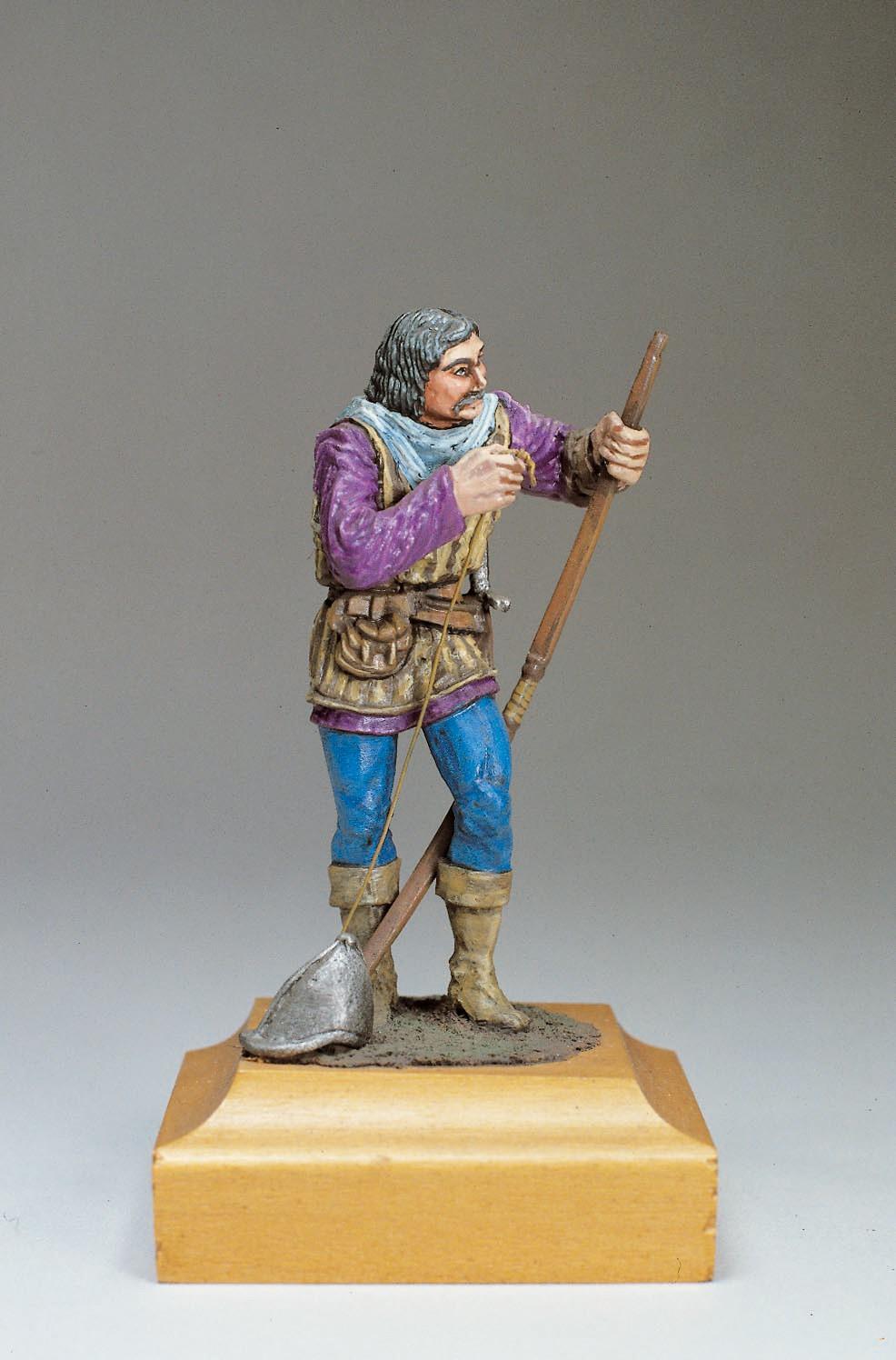 English Longbowman Figurine, XV Century  (Amati)