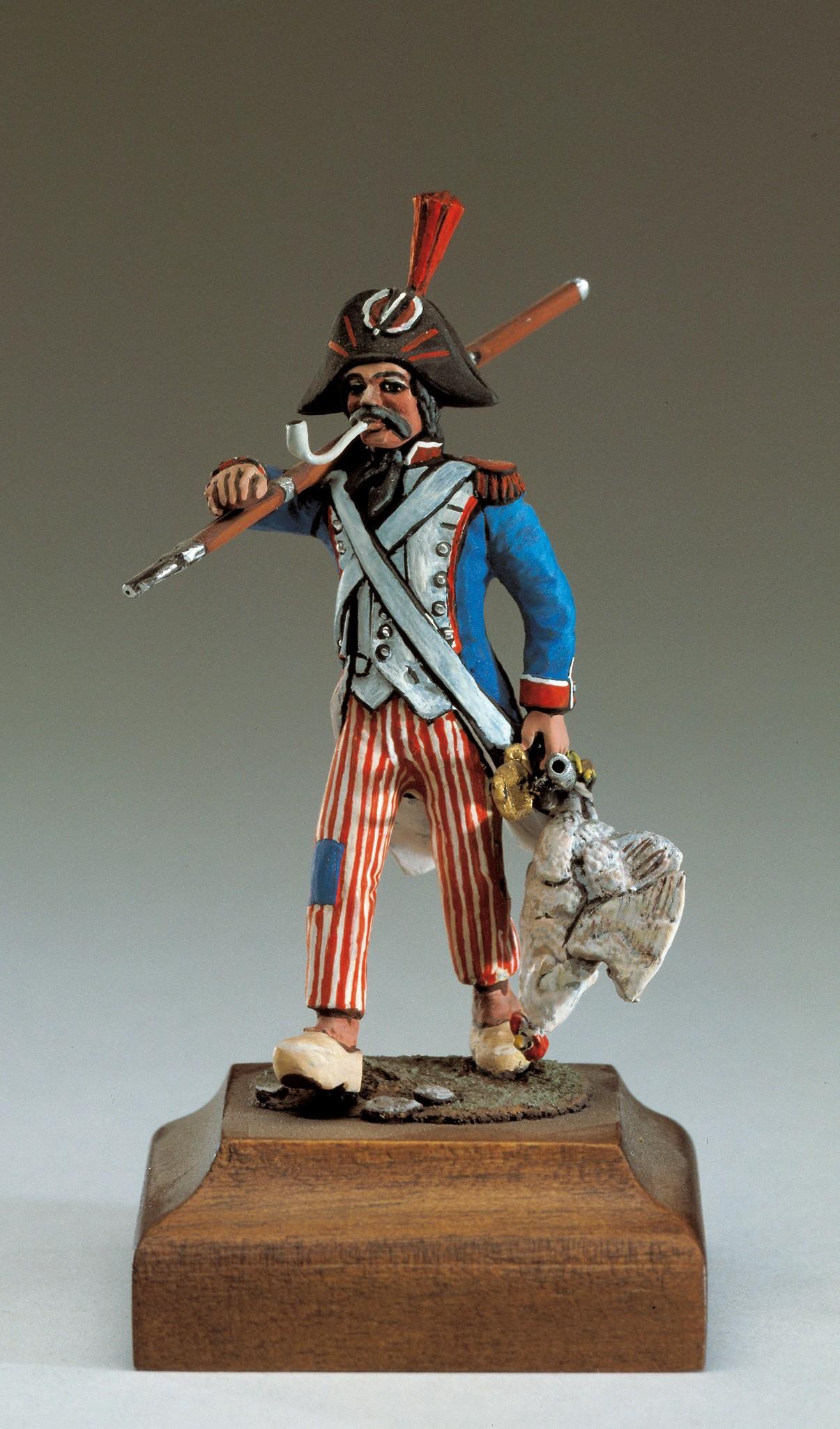 French Grenadier Figurine, 1752 (Amati)