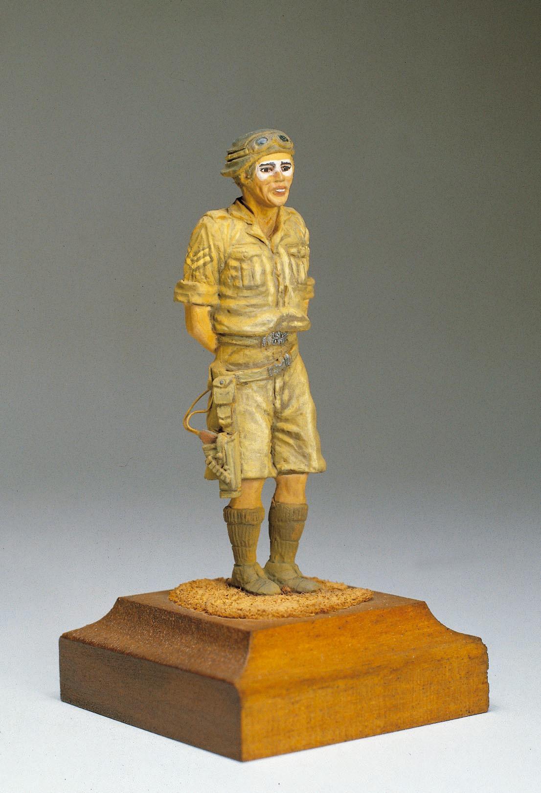 N. African British Tanker Figurine (Amati)