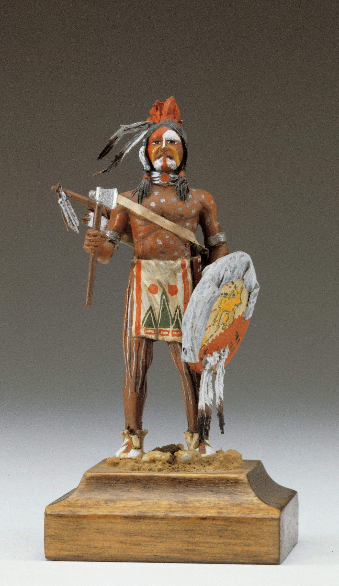 Cheyenne Warrior Figurine, XIX Century (Amati)