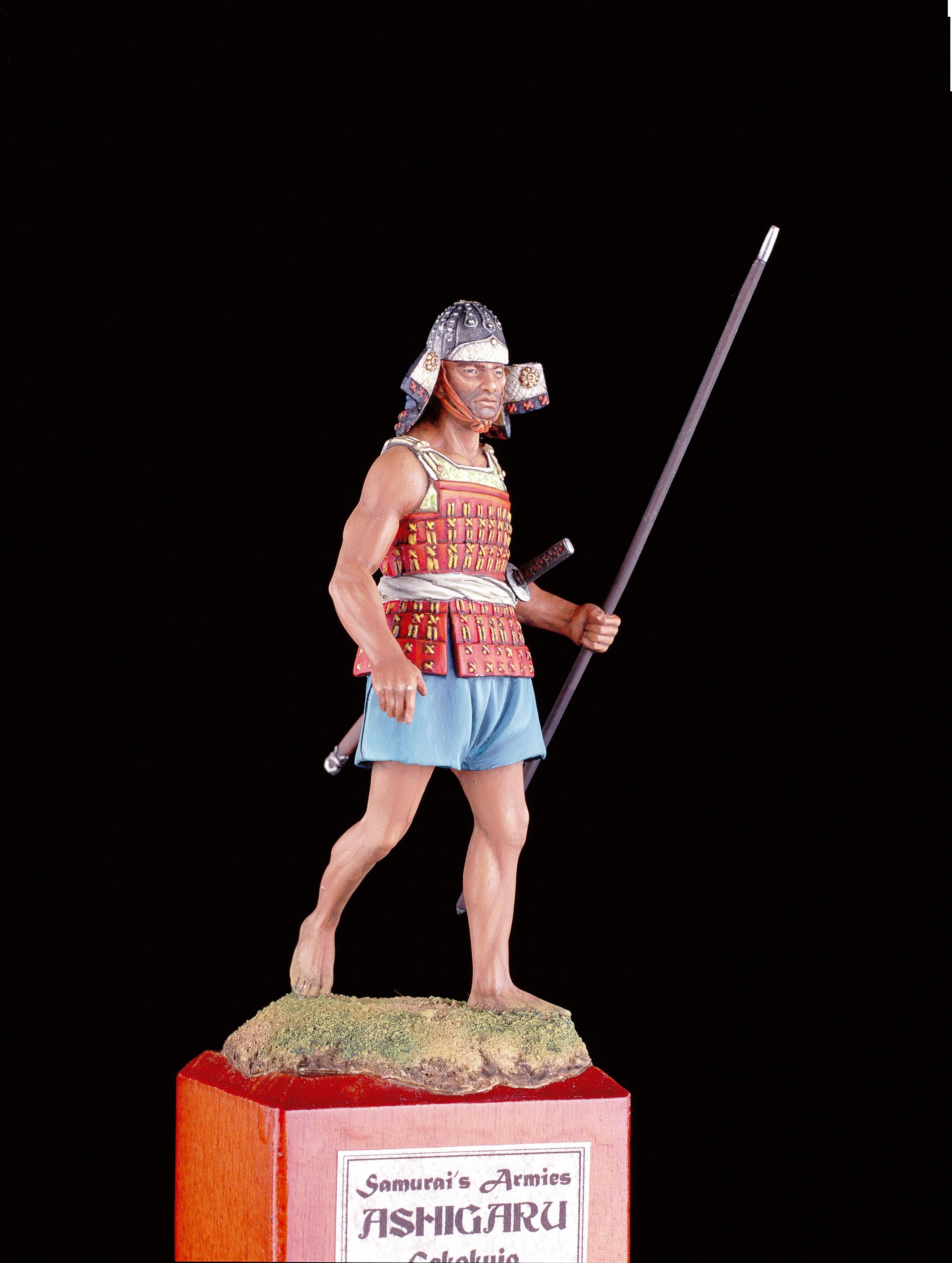 Samurai Army Figurine, 1553 (Amati)