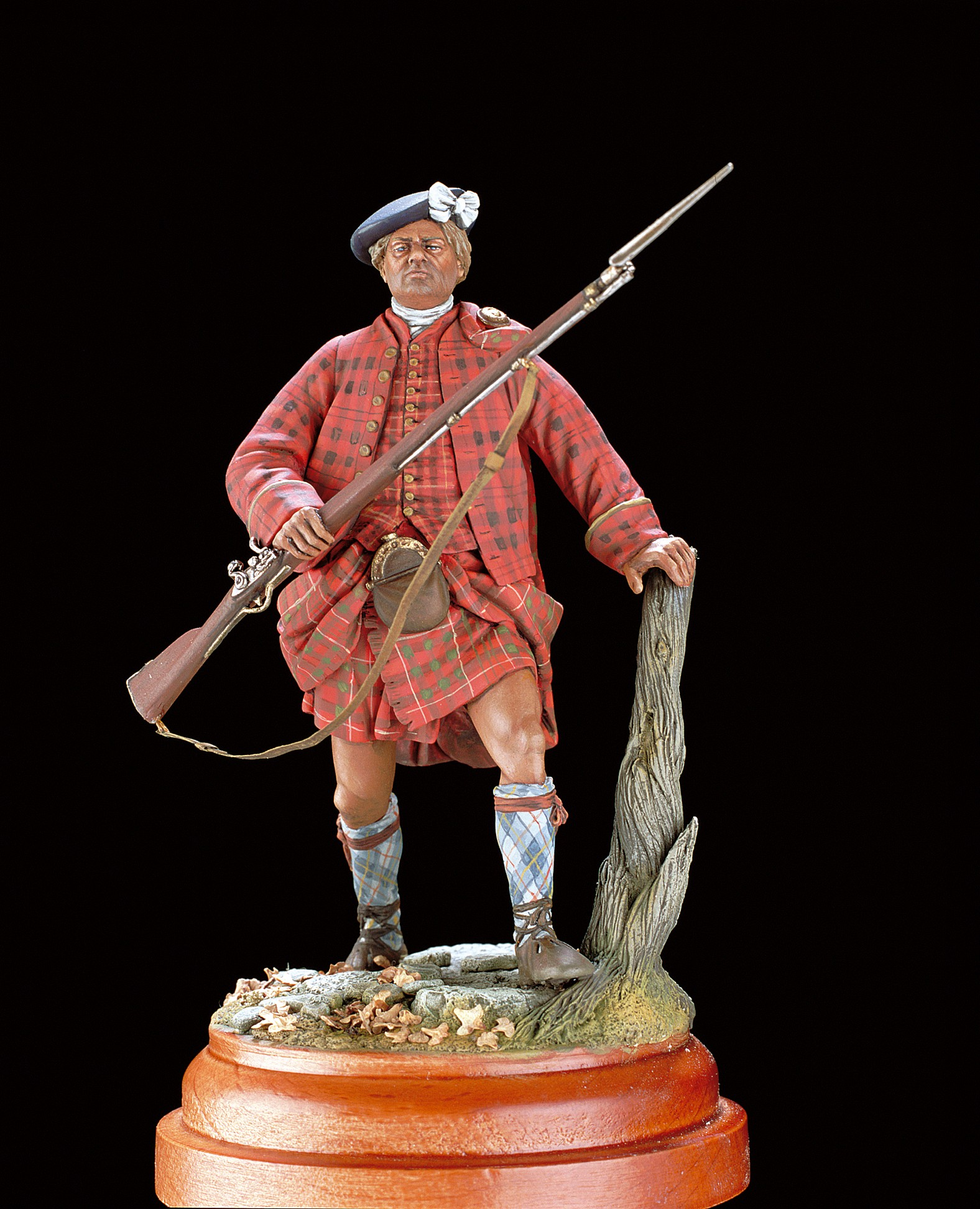 Highland Clansman Figurine, Loyalist Unit, 1745 (Amati)