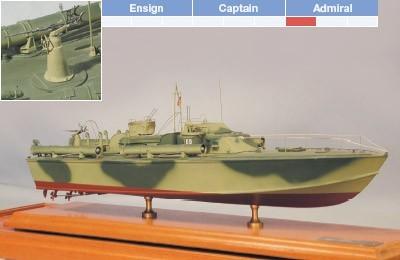 """80' Elco PT Boat (BlueJacket, Scale: 1/4"""" = 1')"""