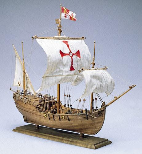 Pinta - Ship of Columbus's Exploration Fleet - Amati AM1410