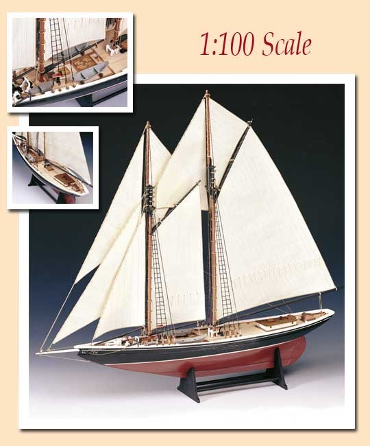 AM1447 Amati Bluenose Model Boat Kits