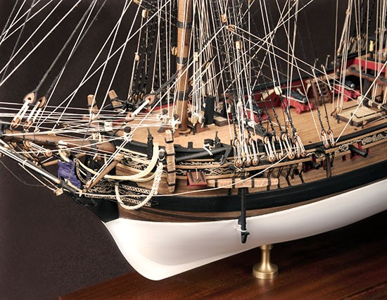 HMS Fly, Swan Class Sloop – Amati/Victory Models Wooden Ship Kit AM1300/03