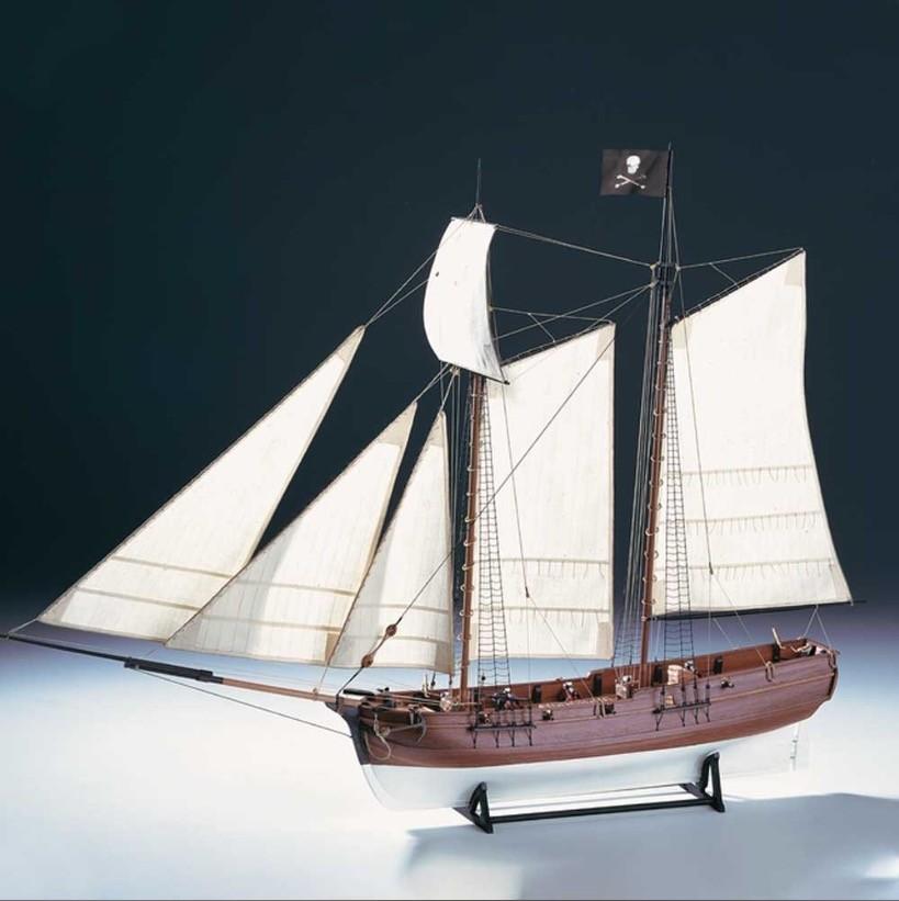 "Pirate Ship ""Adventure"" (Amati, 1:60)"
