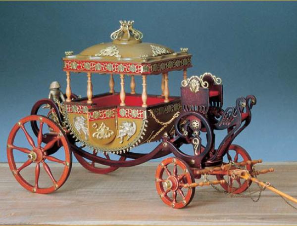 Amati Royal Carriage Model Kit