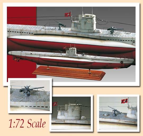 AM1602 Amati U-Boat U-47