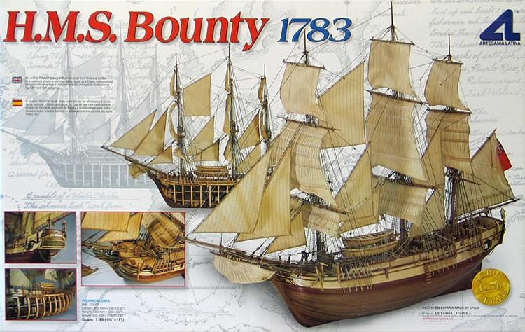 Bounty (Artesania Latina, 1:48)
