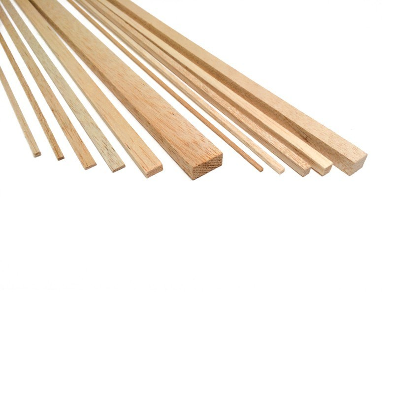 Balsa Strips 15mm x 15mm (10/PK, AM2394/70)