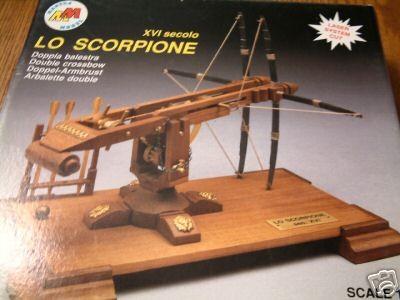 Double crossbow Scorpion (Mantua, 1:17)