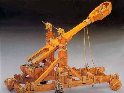 Norman Catapult Model (Mantua, 1:17)