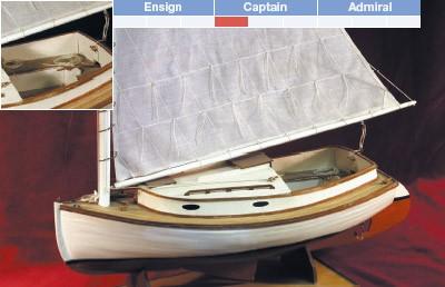 Cape Cod Catboat (Bluejacket 1:16)