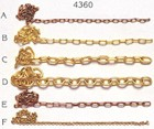 Brass Chain (4mm, AM4360/05)