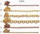 Brass Chain 3.5mm 1 mtr. (AM4360/07)