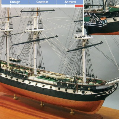 """USS Constitution (Bluejacket, Scale: 1/8""""=1')"""