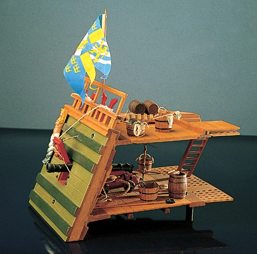 Wasa Gun Deck Section (Corel, 1:24)