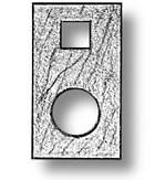 Mast Bowsprit Cap (13mm, AM4298/02)