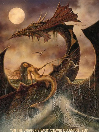 On The Dragon's Back by David Delamare