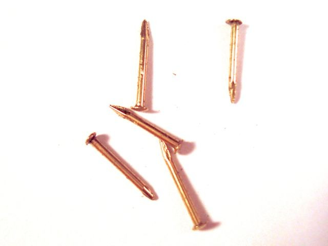 Brass Nails 7mm (200/pk, AM4134/07)