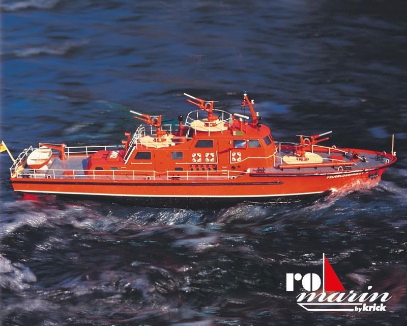 Düsseldorf Fire-Fighting Boat (Krick 1:25)