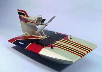 "Windy Air Boat (Dumas, 23"" Long)"