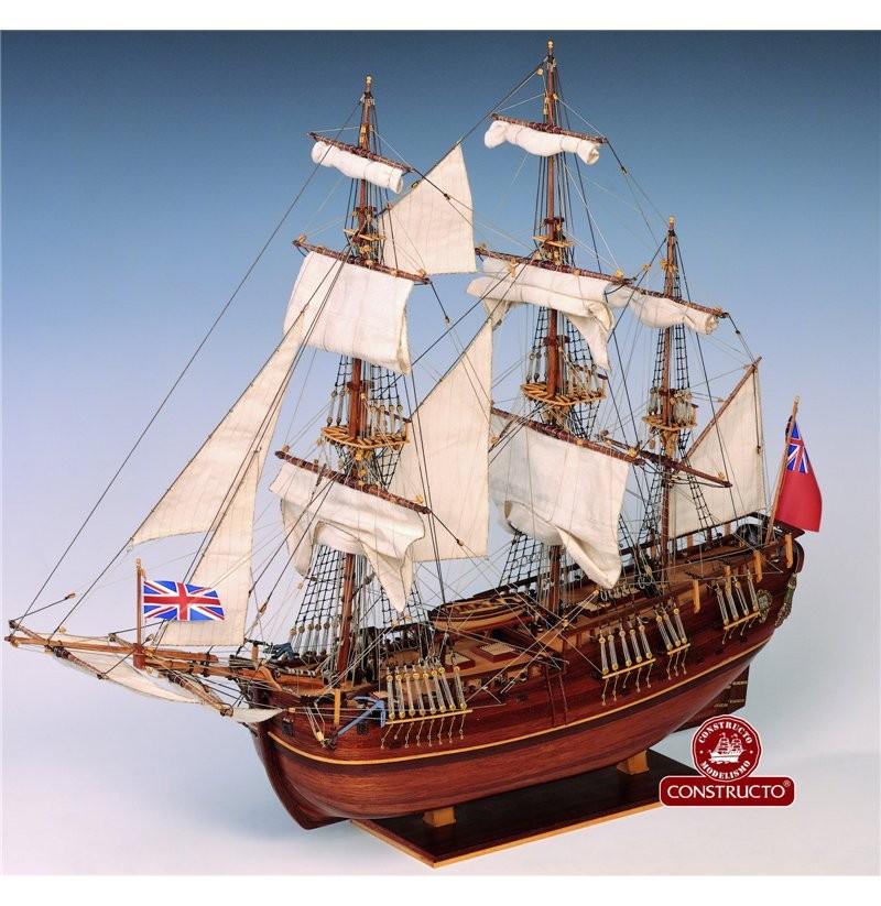 HMS Endeavour (Constructo 1:60)