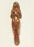 Cast Brass Nude Figurehead (45mm, AM5599)