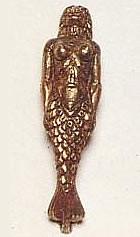 Cast Metal Mermaid (60mm, AM5607)